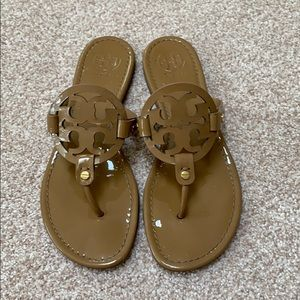 Tory Burch Patent Leather Nude